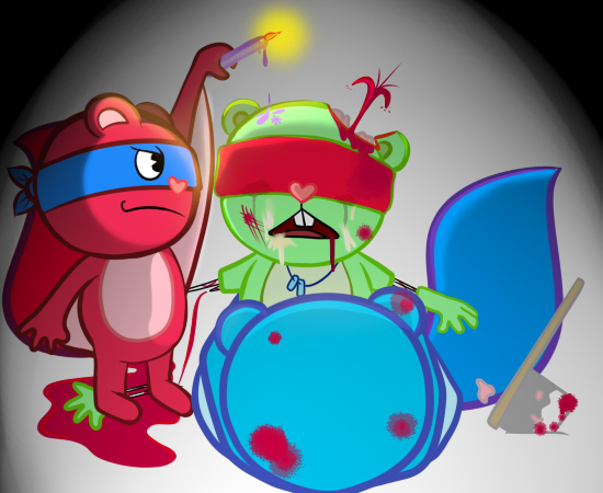 tree friends happy Grim adventures of billy and mandy gladys