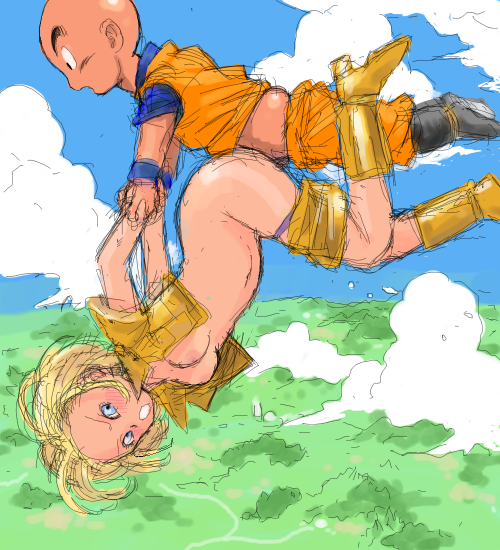 and krillin hentai android 18 Trials in tainted space strange egg