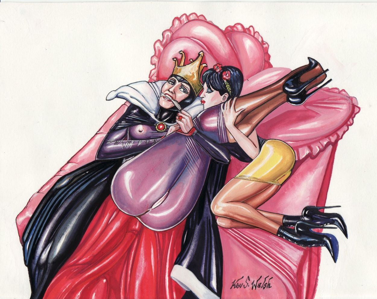 queen the awoken dead is Warhammer it's a pleasure to serve