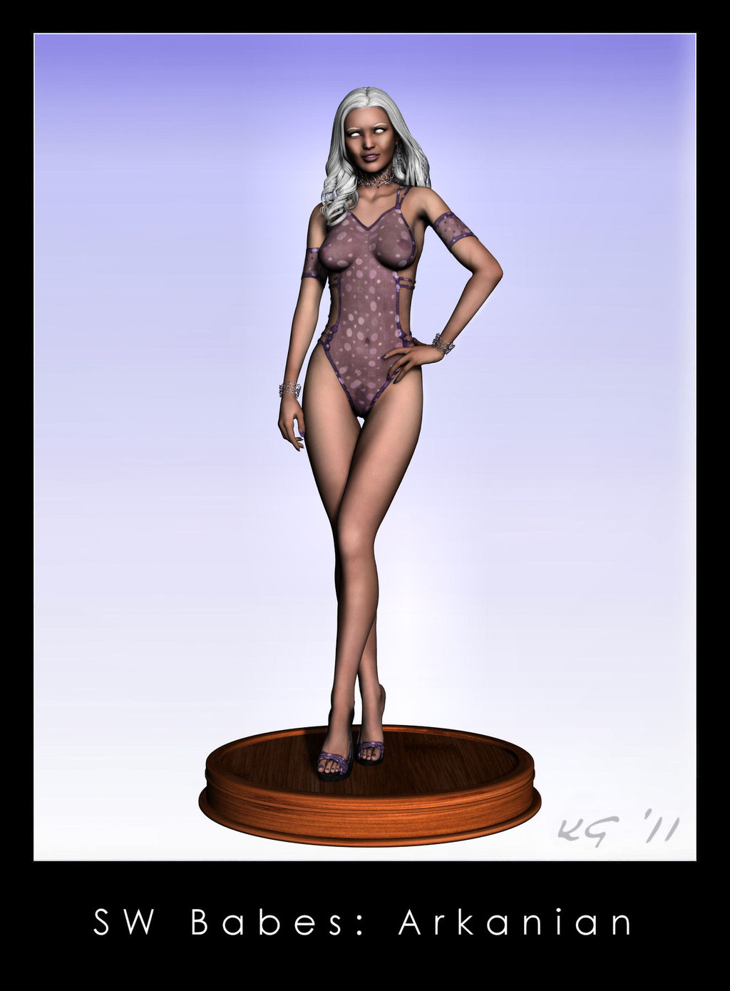 star women of wars nude Alphonse (white datura)