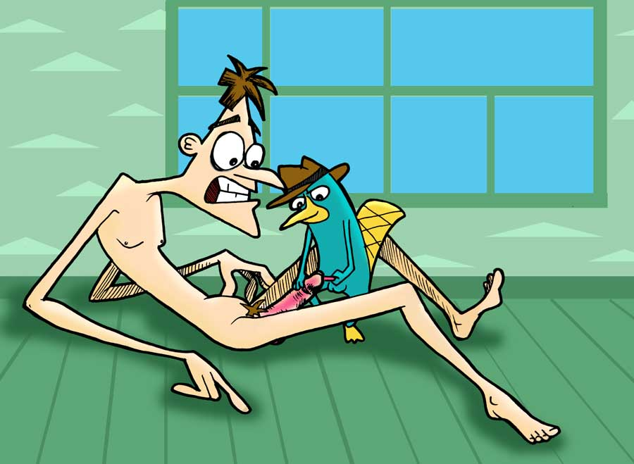 ferb nude and platypus phineas Five nights at freddy's sex games