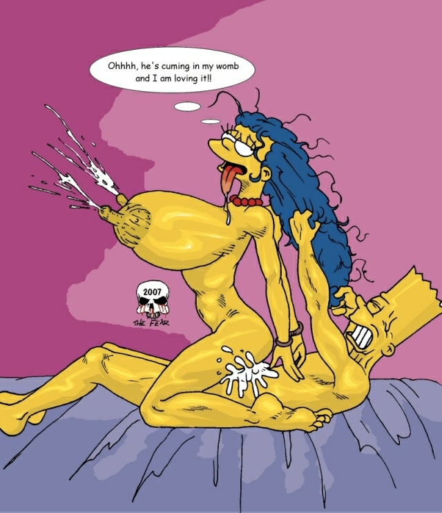 and bart the fear imagefap marge Cala maria cuphead