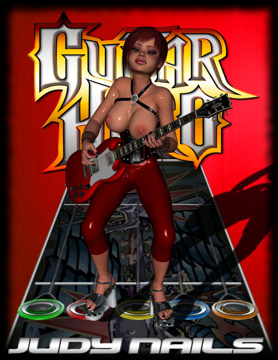 hero 3 guitar judy nails K-on futa hentai
