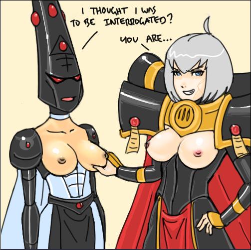 tech 40k meme priest warhammer Shadbase (dot)com