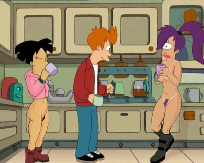 porn amy and futurama leela The walking dead clementine nude