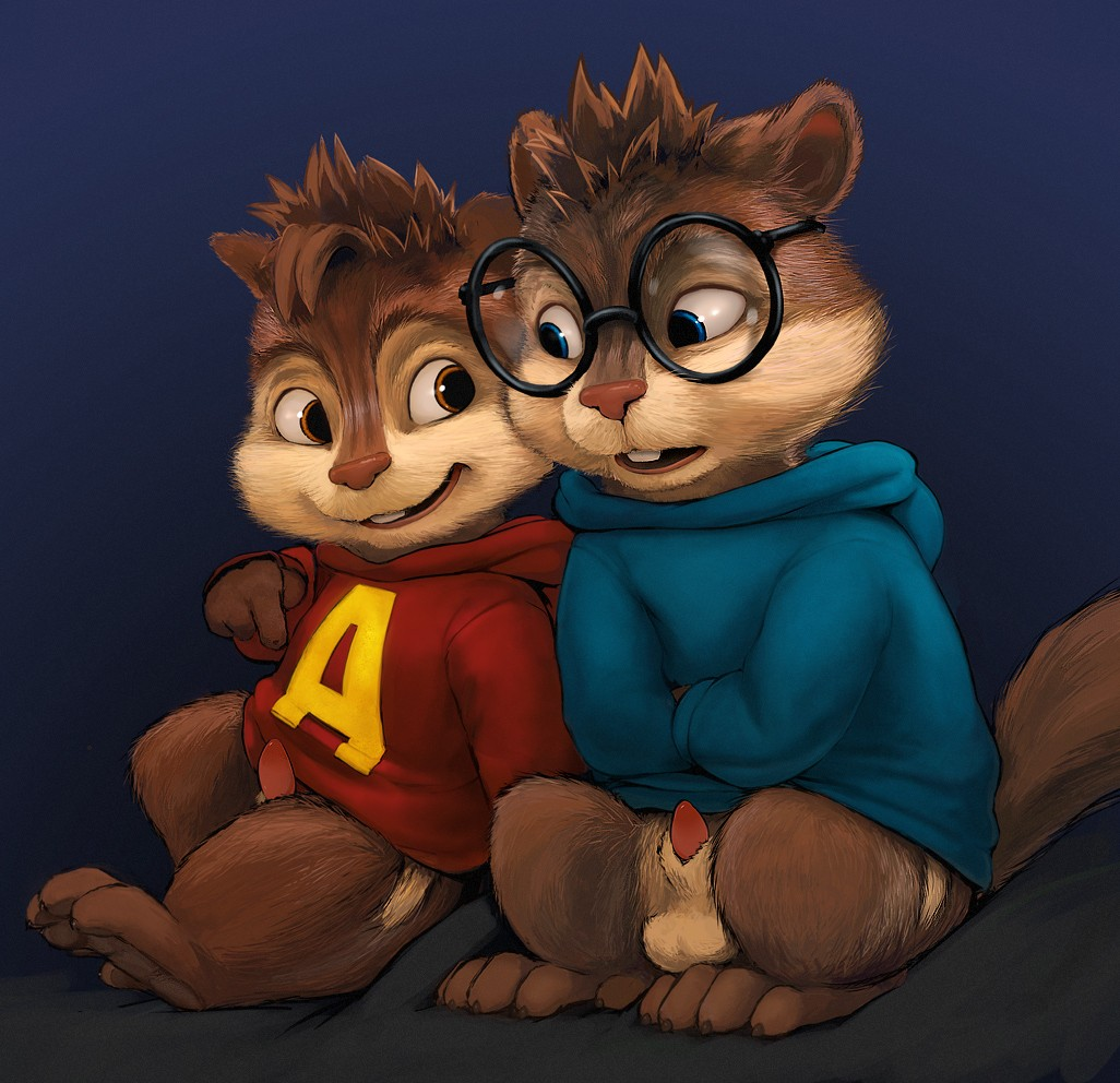 and the glasses chipmunks alvin Annah-of-the-shadows