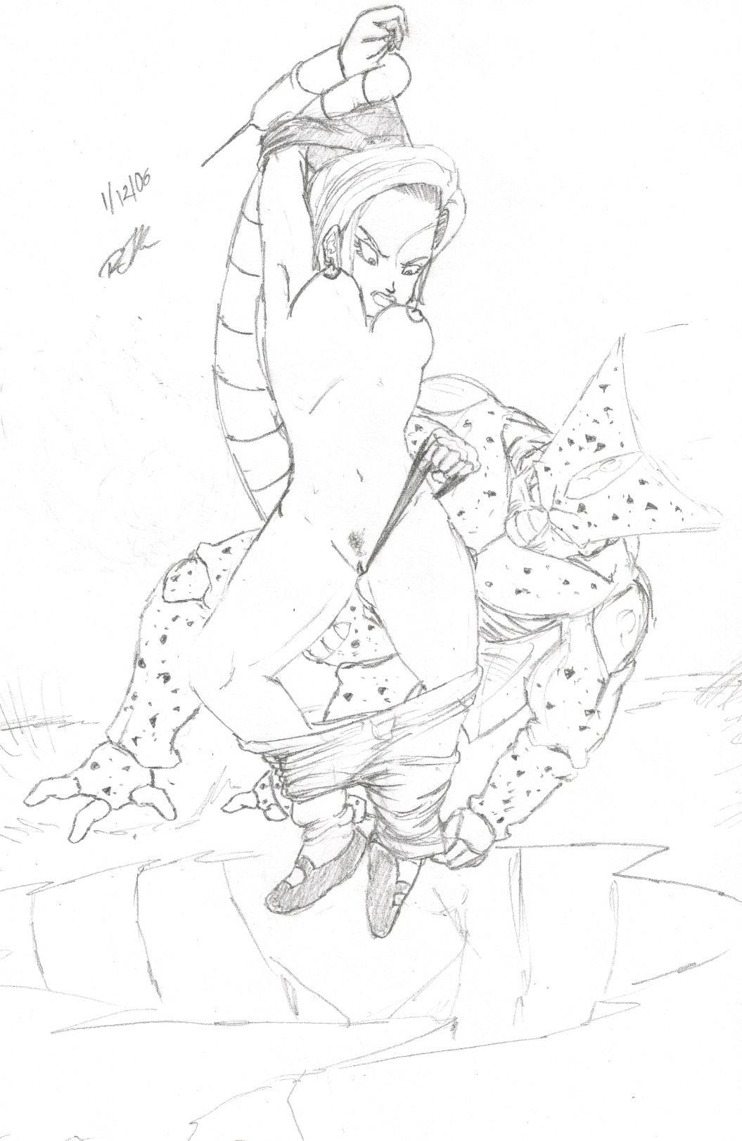 z ball android 21 dragon Oujo & onna kishi w dogehin roshutsu