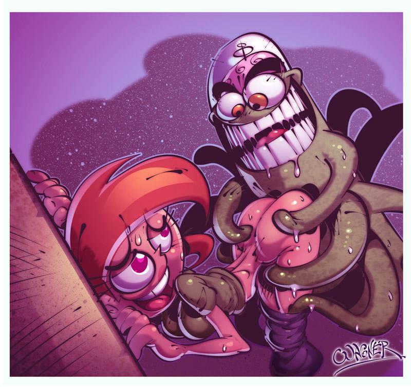 vicky comic odd fairly parents porn Plants vs zombies 2 thyme warp
