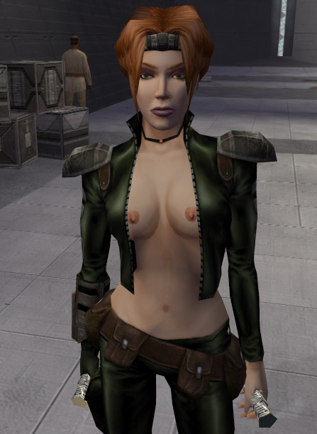 female characters star wars nude Devola and popola nier automata