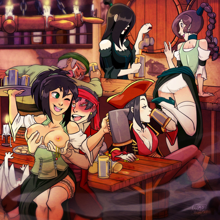 man boom sparky the last sparky airbender avatar Miss kobayashi's dragon maid rukoa