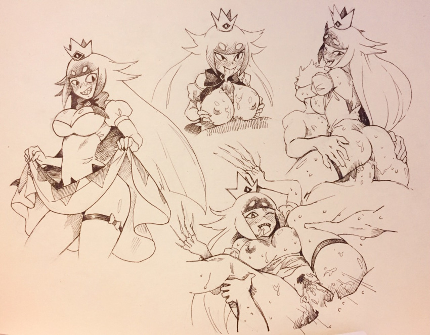 frog the princess the and lawrence Super mario rpg queen valentina