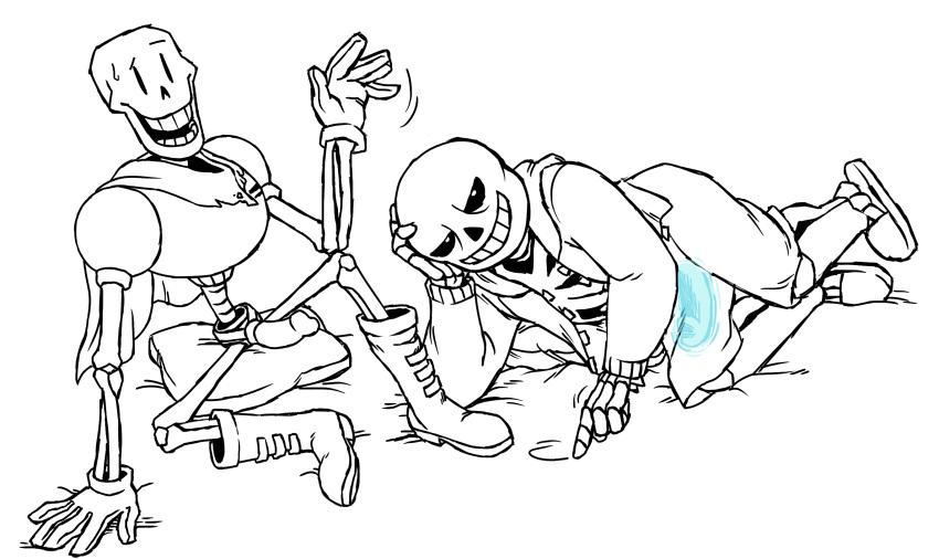 sans papyrus underfell undertale x Super robot wars original generation: the moon dwellers