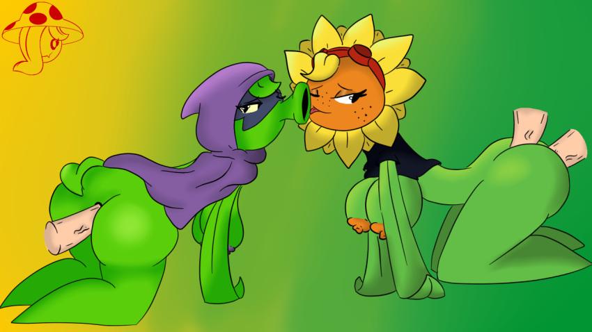 2 plants vampire zombies garden vs flower warfare Yakusoku_no_neverland