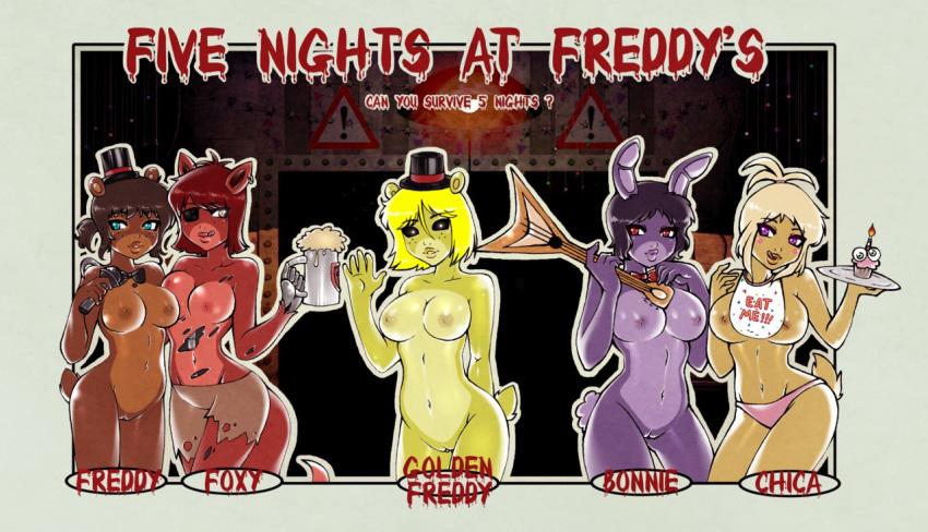 five freddys nights at foxy Youkoso! sukebe elf no morie