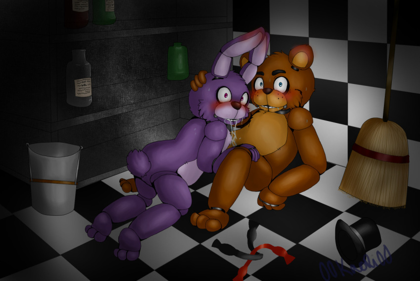 nights furry freddy's at five Chica the chicken fnaf 2