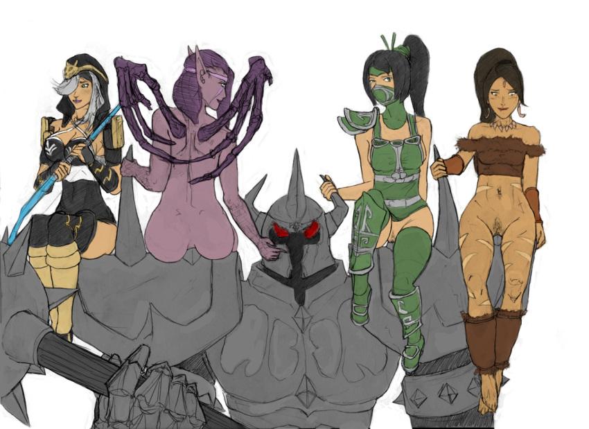 super evil league doomageddon of Female five nights at freddy's