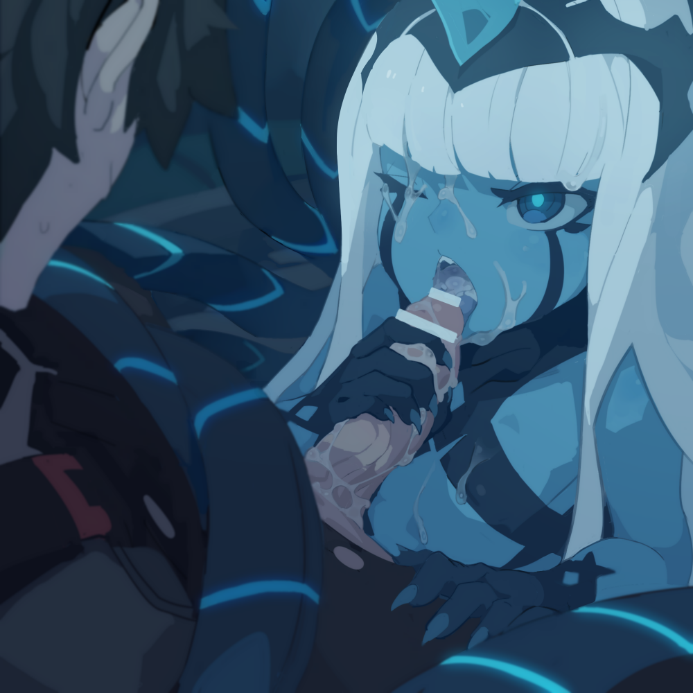 netflix darling on the in franxx is Jessica from rick and morty