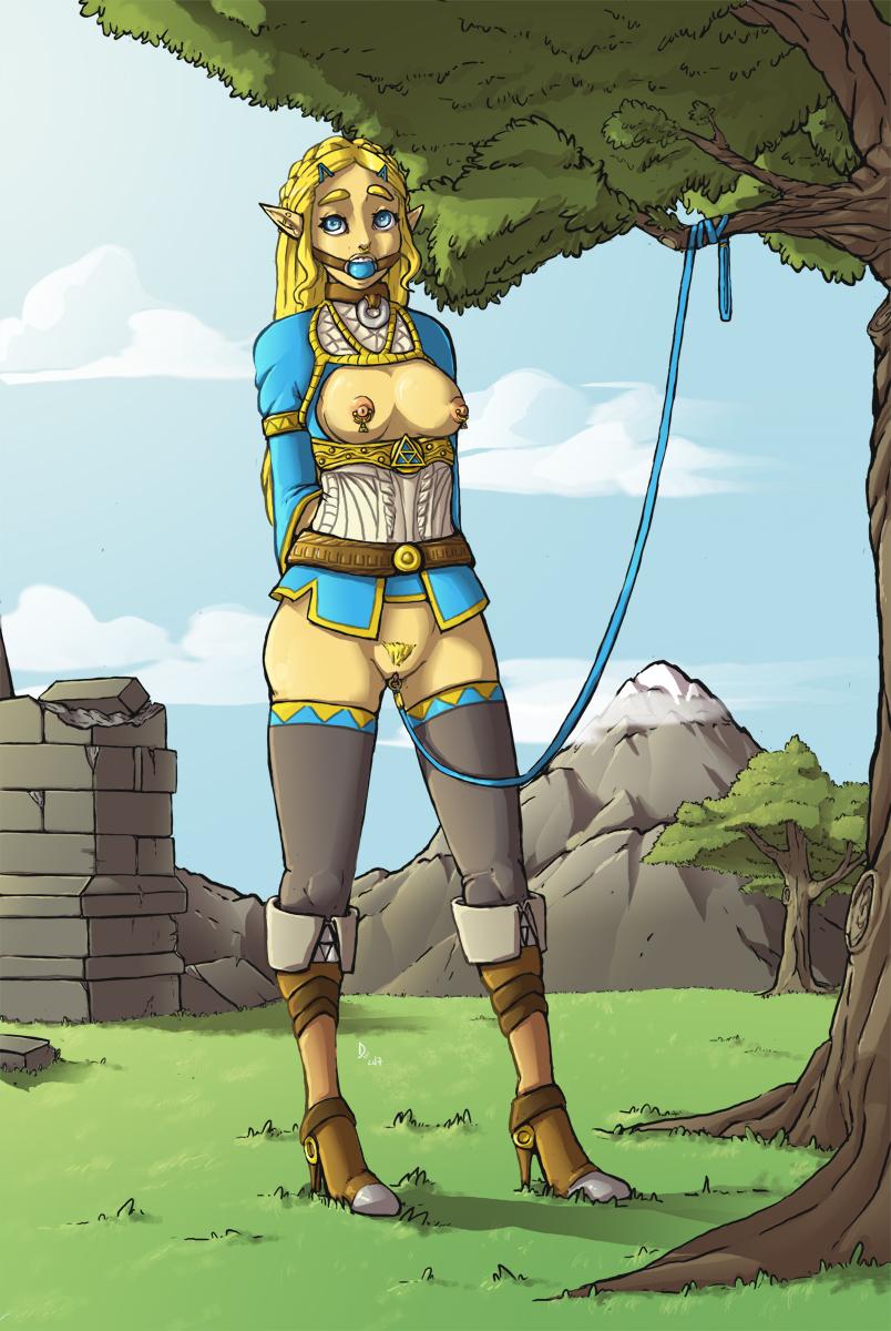 breath zora of wild female the Ane kyun! yori the animation