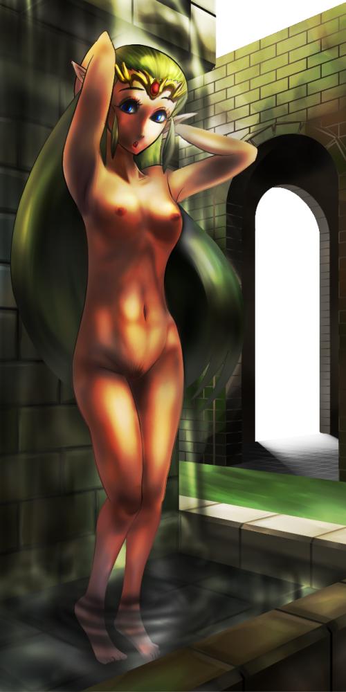 girl of zora time ocarina Makoto persona 5