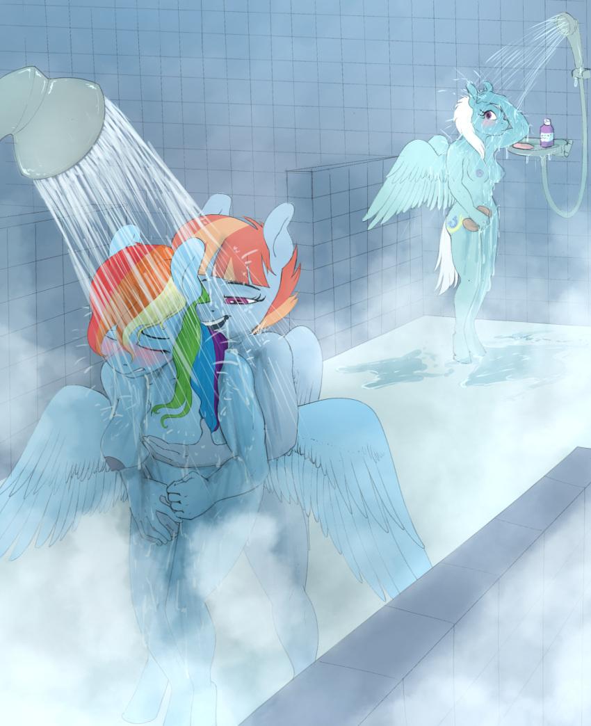 dust rainbow lightning and dash Nanase-chan ntr!