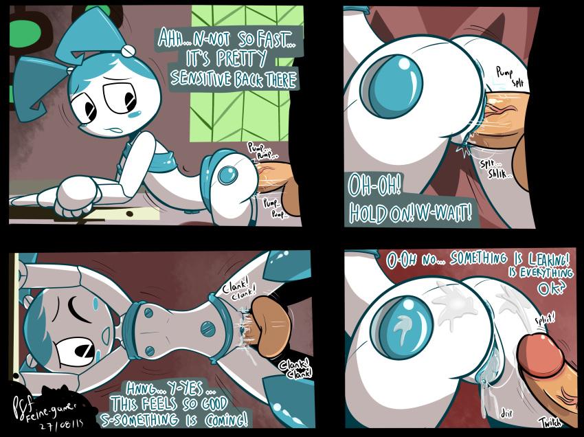 robot a my life jenny human teenage as Femboy hooters go fund me